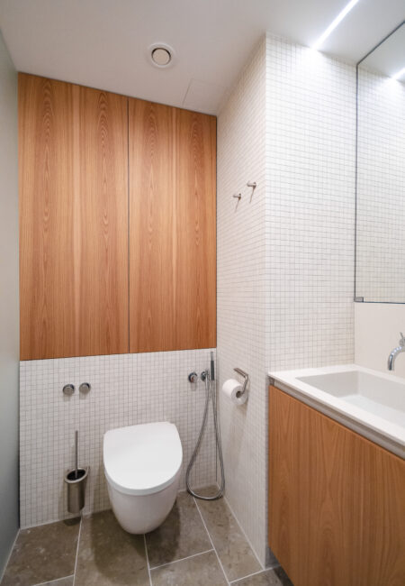 Yksityisasunnon kylpyhuoneen korjaus Helsingissä